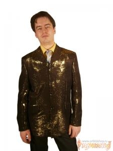 Золотой пиджак Robarto Bartoloni