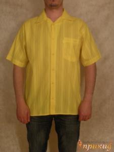 Рубашка жёлтая DIEGO