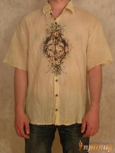 Рубашка сжатая Mizera с принтом