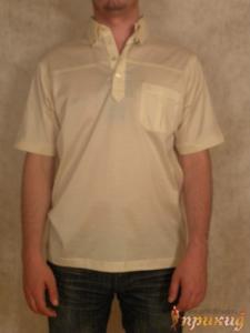 Рубашка кремовая Pierre Cardin