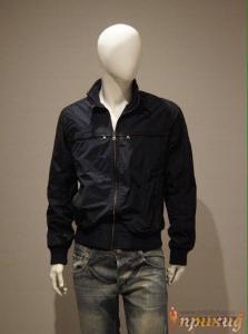 Тёмно-синяя куртка Burberry