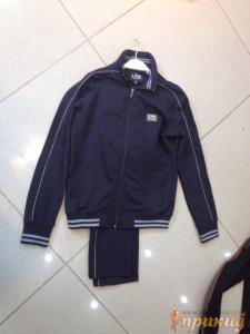 Синий спортивный костюм ARMANI JEANS