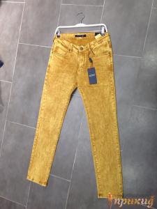 Джинсы жёлтые Armani Jeans