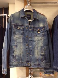 Куртка синяя джинсовая ARMANI JEANS