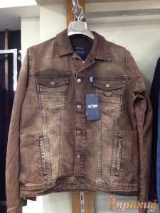 Куртка коричневая джинсовая ARMANI JEANS