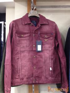 Куртка малиновая джинсовая ARMANI JEANS