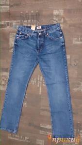 Джинсы синие 501