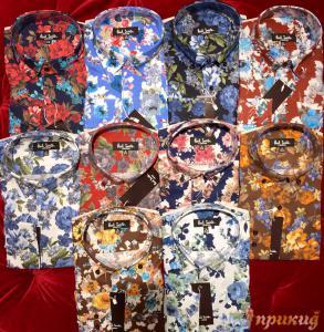 Рубашки с цветами разных расцветок PAUL SMITH