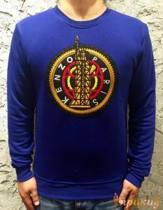 Джемпер KENZO с круглым логотипом.