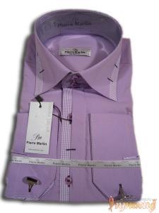 Сиреневая рубашка Pierre Martin
