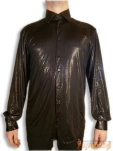 """Рубашка """"чёрный блеск"""""""