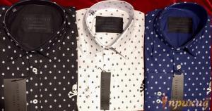 Рубашки PHILIPP PLEIN белые, черные, синие.