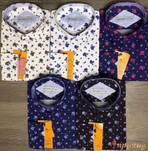 Классические сорочки ETRО различных расцветок с узорами и цветами.