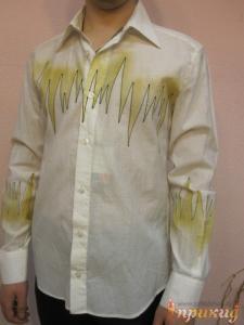 Белая рубашка пульс