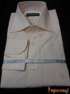Сорочка бледно-розовая