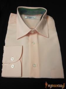 Рубашка персикового цвета Del Pierro